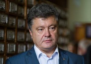 Порошенко  присудил  Украине победу в информационной войне с Россией