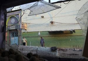 В Ираке число жертв взрыва в суннитской мечети возросло до 30 человек