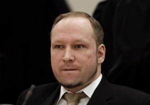 Брейвик принят в университет Осло на особых условиях - ректор