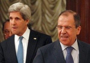 Воцна в Сирии - Керри: Переговоры с Лавровым по сирийскому вопросу прошли конструктивно