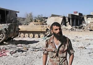 Американская разведка узнала, кто и куда перевозил химоружие в Сирии - Wall Street Journal