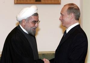 Путин и Роухани обсудят иранскую ядерную программу и сирийский вопрос