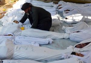 Асад обвинил США в организации химической атаки под Дамаском