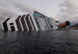 Итальянские власти планируют поднять Costa Concordia за один день, потратив $1 млрд