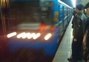 новости Киева - метро - станция Крещатик - Сегодня начинается капитальный ремонт эскалатора на одной из центральных станций киевского метро
