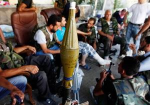 Война в Сирии - Свободная сирийская армия категорически отвергла предложение по передаче химического оружия под международный контроль