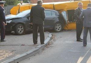 ДТП с участием маршрутки в Сумах: два человека погибли, 14 госпитализированы