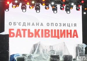 Милиция опровергла заявление Батьківщини о покушении на жизнь председателя волынской ячейки партии