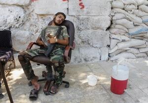 Сирийские повстанцы временно контролировали несколько объектов по хранению химоружия  - доклад