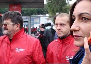 Коммунисты не пустили журналистов на собрание по поводу референдума о вступлении Украины в ТС