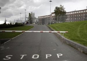 Из тюрьмы, где содержится Брейвик, сбежал заключенный