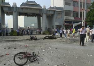 Возле школы в Китае прогремел взрыв, есть погибшие и пострадавшие