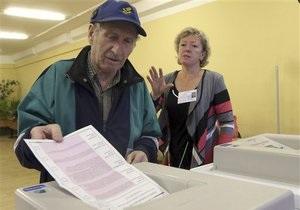 В Москве объявлены первые результаты выборов