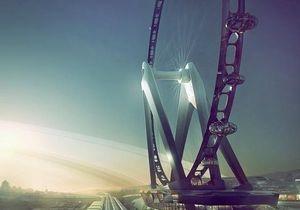 В Японии собираются построить самое большое в мире колесо обозрения