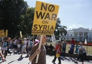 Война в Сирии - новости США: В США либералы запустили рекламу, призывающую остановить атаку на Сирию