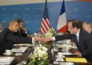 Обама и Олланд уточнили возможные цели коалиции США и Франции в Сирии