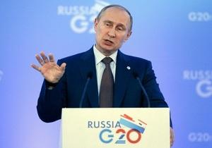 Путин рассказал, почему охрип