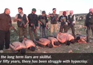 Война в Сирии - New York Times опубликовала видео жестокой казни сирийских военнослужащих