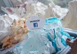Хорватские кондитеры создали мороженое со вкусом Facebook