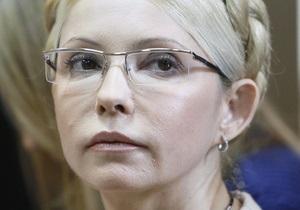 Высший спецсуд отказался передать в Верховный Суд жалобу Тимошенко о пересмотре приговора