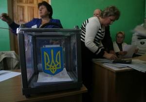 Оппозиция намерена выдвинуть единых кандидатов на выборах в пяти округах
