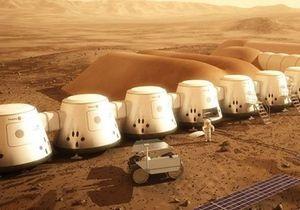 Новости науки - жизнь на Марсе - поселенцы на Марсе: Архитекторы предлагают перед поселенцами отправить на Марс строителей