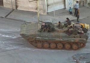 Война в Сирии - Сирийская армия приведена в полную боеготовность - генерал