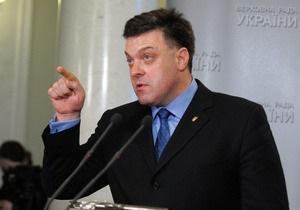 Рада - Тягнибок - Янукович - Диалог не получился: Тягнибок раскритиковал речь Януковича в Раде