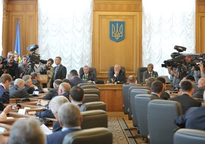 Представитель Януковича в парламенте о позиции Партии регионов: В Европу хотят не все