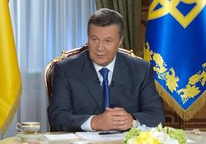 Янукович - Янукович подписал закон о новом военно-административном делении Украины