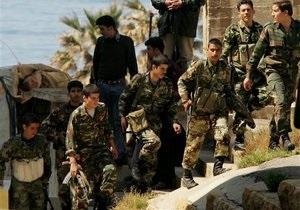 Война в Сирии - Сирийская армия начала перемещаться в районы проживания мирного населения