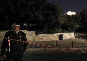 В доме греческого прокурора взорвался конверт с бомбой