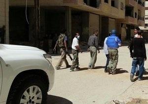 война в Сирии - Собранные экспертами ООН данные по химоружию начнут изучать в понедельник