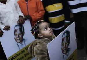 состояние Манделы - Буш-старший по ошибке выразил соболезнования семье Манделы