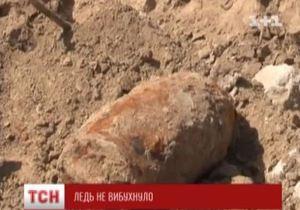 Центр Черкасс эвакуировали из-за 500-килограммовой  бомбы