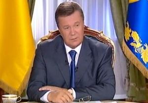 Янукович уверен, что раскритикованная Кремлем украинская модель сотрудничества с ТС начала работать