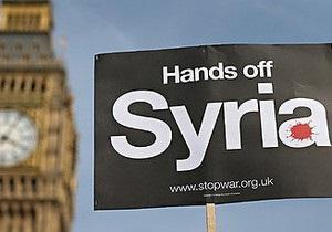 Парламент Великобритании проголосовал против военной операции в Сирии