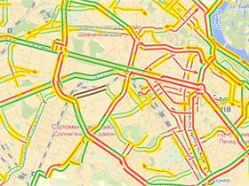 Финал отпускного сезона парализовал Киев многокилометровыми пробками