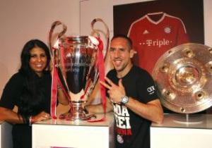 Франк Рибери признан лучшим игроком Европы прошлого сезона