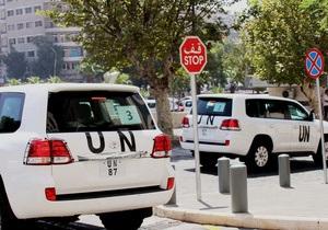 Инспекторы ООН в Сирии продвинулись вглубь района, где было применено химоружие