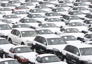 Импорт легковых авто в Украину в первом полугодии сократился на одну седьмую
