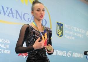 Украинская гимнастка: Когда начал играть российский гимн, меня это возмутило