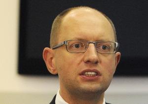 Яценюк назвал действия России вызовом для Украины и Евросоюза
