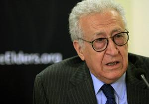Война в Сирии - Любое военное вмешательство должно проводиться с разрешения ООН, по Сирии такого решения не существует - Брахими