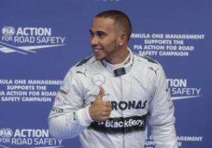 Хэмилтон выиграл квалификацию Гран-при Бельгии