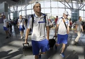 Динамо в боевом составе отправилось на первый матч в Лиге Европы