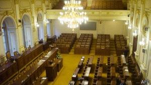 Парламент Чехії саморозпустився
