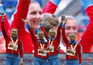 Российские спортсменки обижены предположениями относительно их поцелуя