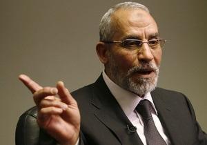 Заворушення в Єгипті - Мурсі - військовий переворот - У Єгипті заарештували духовного лідера Братів-мусульман - ЗМІ