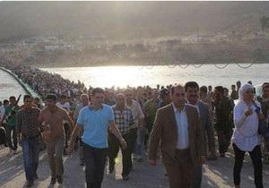 Тисячі сирійських біженців рушили в Іракський Курдистан